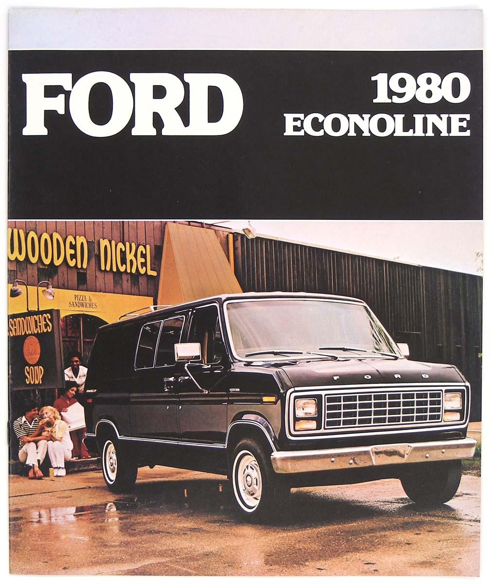 Ford 1980 Econoline Van E