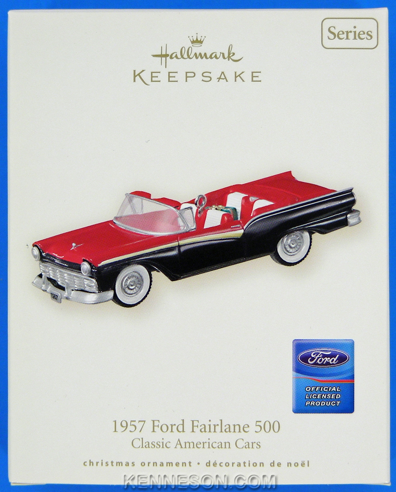 1957 Ford Fairlane 500 Classic American Cars Series 17
