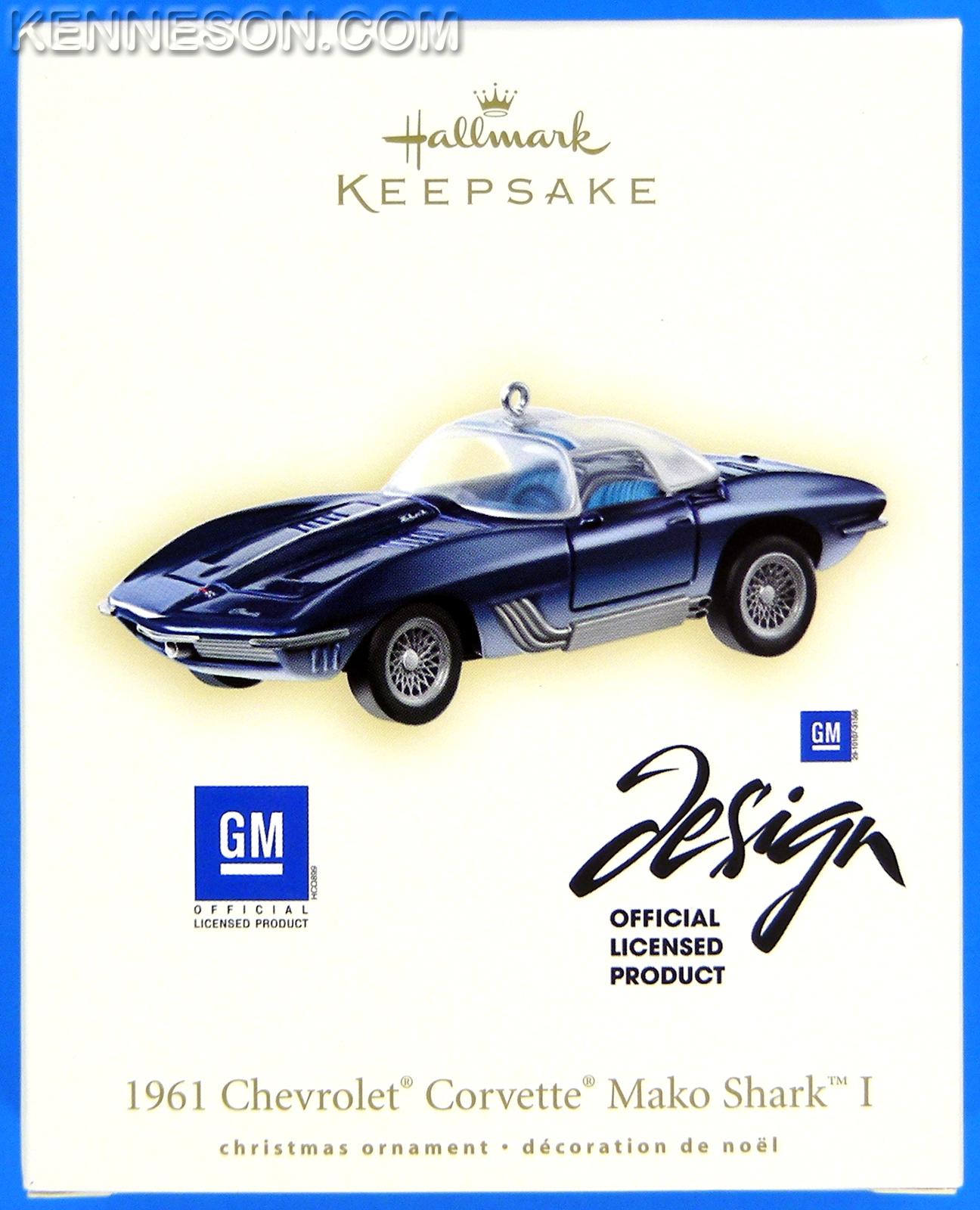 1961 chevrolet corvette mako shark i gm die cast metal hallmark rh ebay com Levon Helm Levon Helm