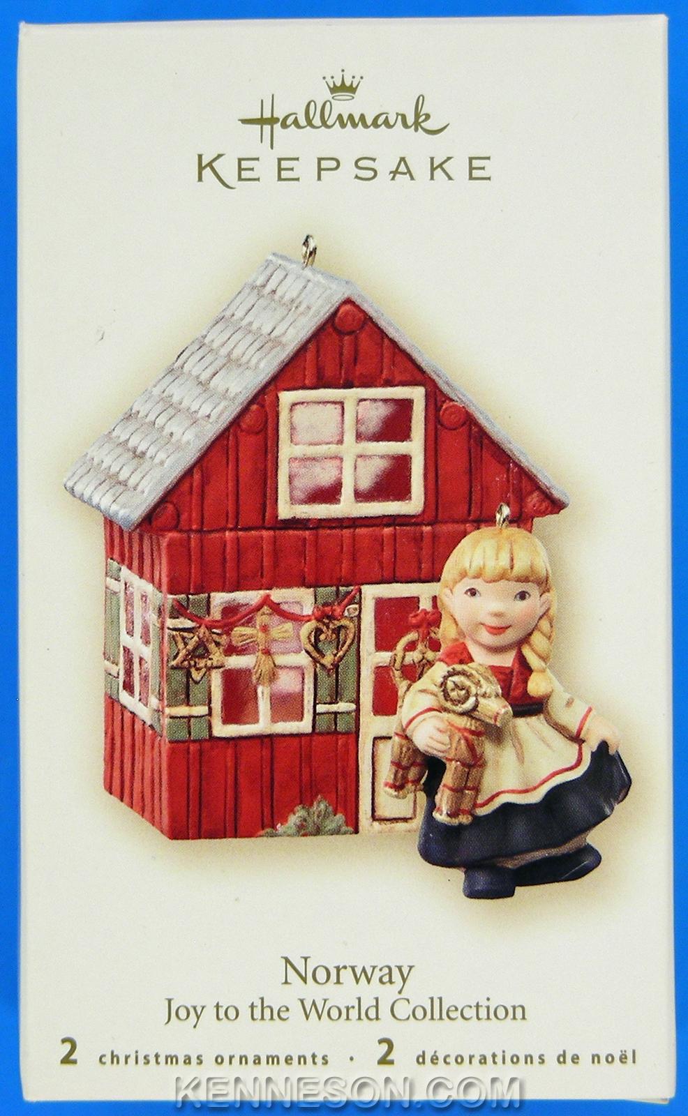 Joy to the World Collection Norway 2 Hallmark Keepsake ...