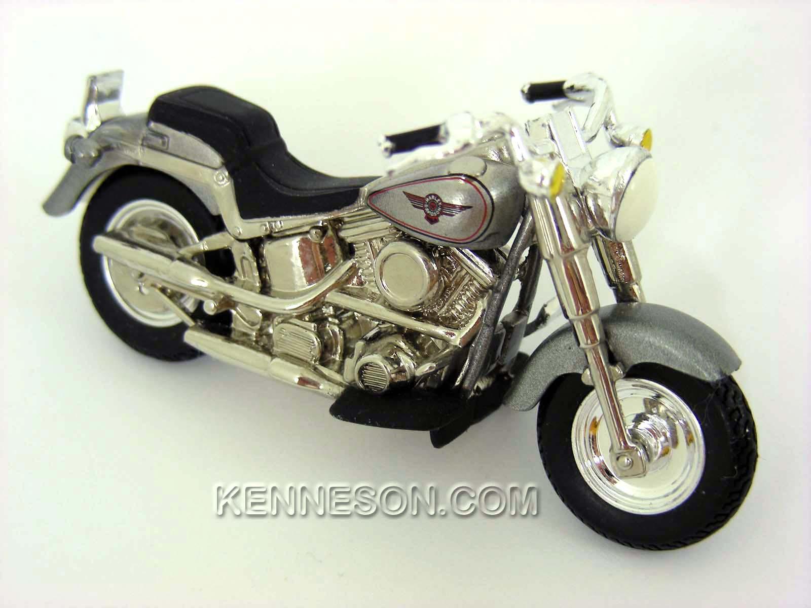 harley-davidson '90s fatboy hot wheels motorcycle | ebay