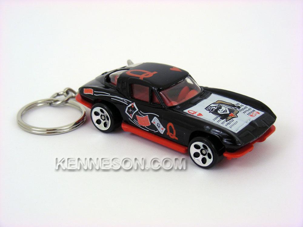 Custom keychain 1963 chevrolet corvette split window for 1963 split window corvette ebay