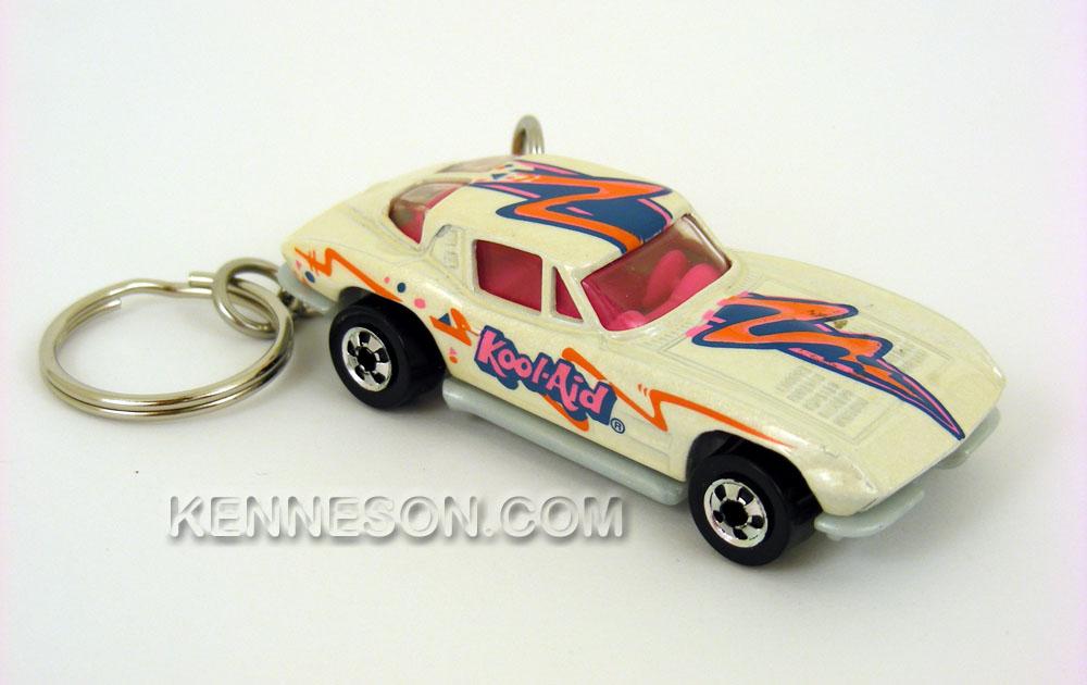 Custom keychain 1963 chevrolet corvette split window kool for 1963 split window corvette ebay