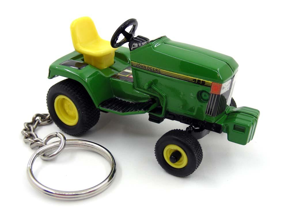 custom keychain john deere lawn garden tractor model 425 with blade key ring fob ebay