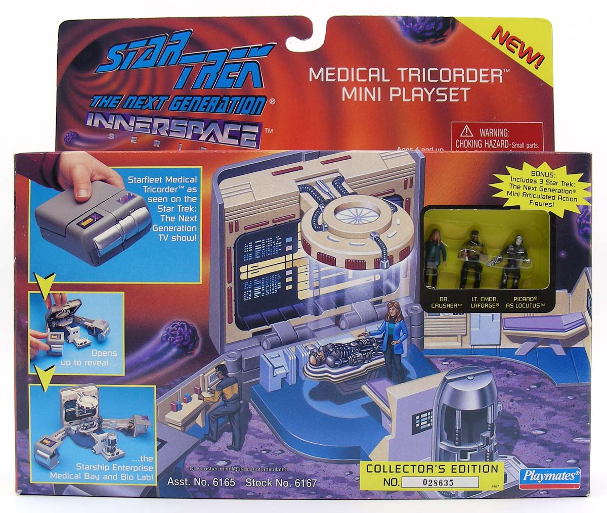 Mini playsets vaisseaux et figurines. Star_Trek_The_Next_Generation_Innerspace_Medical_Tricorder